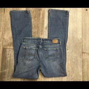Levi's Signature Low Rise Boot Cut Jeans sz 8 Long